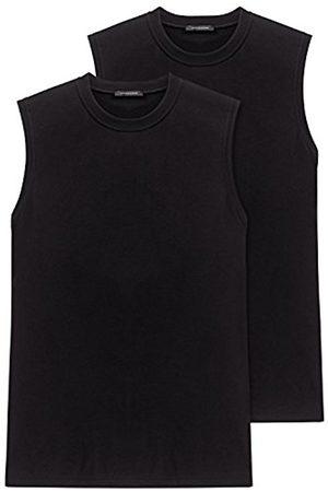 Men Vests & T-shirts - Schiesser Men'S Vest 2 He Pack 208010-000, Gr. 6 L