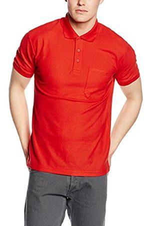 Men Polo Shirts - Fruit Of The Loom Men's SS036M Polo Shirt,