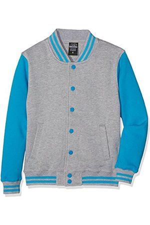 Boys Jackets - Boy's Kids 2-Tone College Sweatjacket Jacket