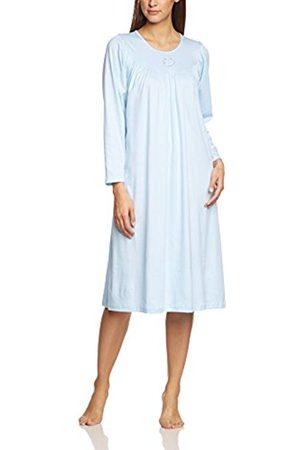 Women Nightdresses & Shirts - Calida Women's Nightshirt Soft Cotton 33000 Plain Nightie