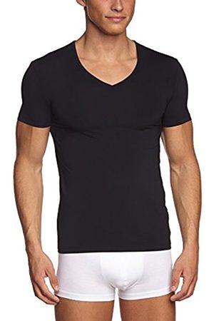 Men Short sleeves - Hanro Men's short sleeve v-neck shirt - micro touch