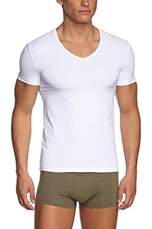 Men Short sleeves - Hanro Men's Micro Touch Short Sleeve V-Neck Shirt