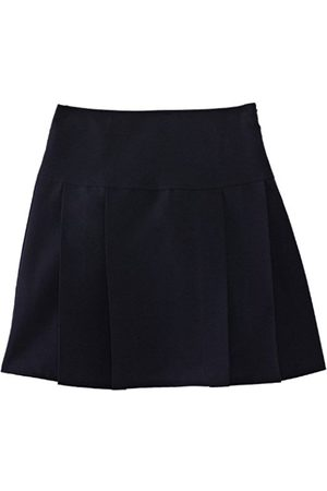 Girls Dresses & Skirts - Girl's Henley Pleated School Skirt