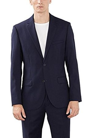 Men Jackets - Esprit Collection Men's 993EO2G902 Long Sleeve Suit Jacket