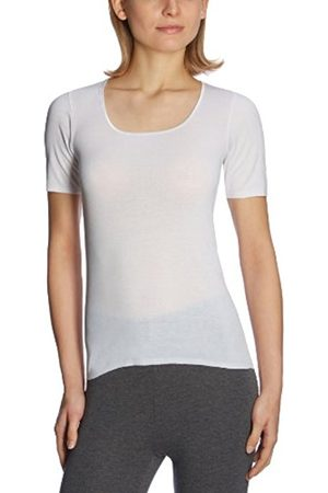 Women Vests & T-shirts - Schiesser Women's Luxury 1/2 Sleeve Underwear - - 10 (Brand size: S)