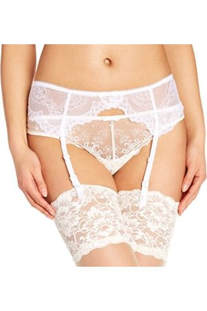 Women Padded Bras - Gossard Superboost Lace Suspender Women's Suspender Belt X-Small
