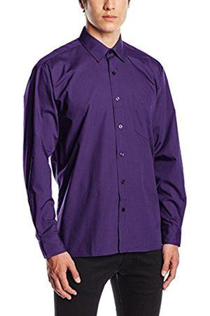 Men Long sleeves - Men's Poplin Long Sleeve Formal Shirt
