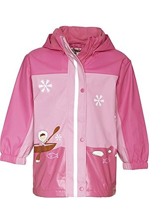 Rainwear - Playshoes Girl's Rain Coat with Fleece Lining