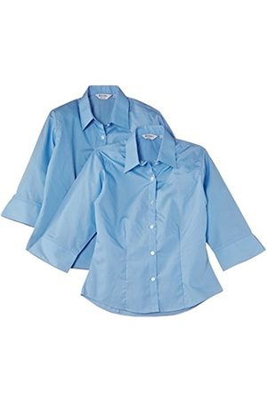 Girls Blouses - Limited Girl's 3/4 Sleeve Fitted Blouse (pack of 2)
