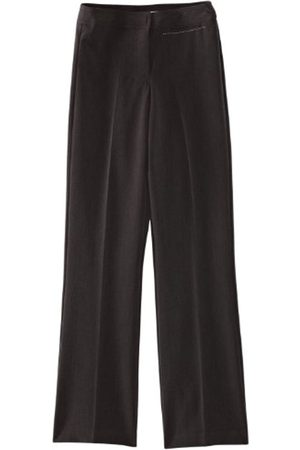 Girls Wide Leg Trousers - Limited Girl's Senior Wide Leg Plain Trousers
