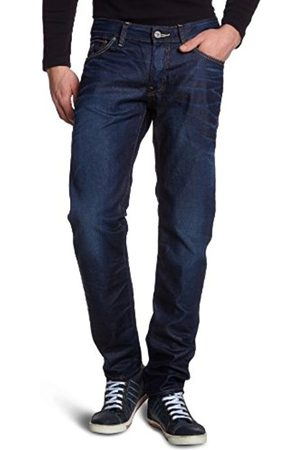 Men Tapered - G-Star Men's 3301 Low Tapered Jeans - (dk aged 4638-89)
