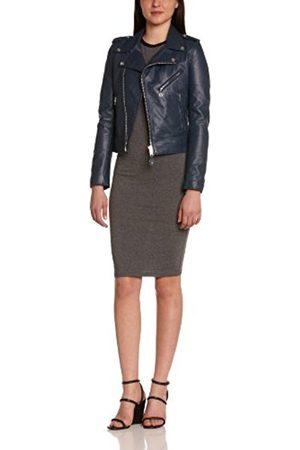 Women Blouses - Schott NYC Women's LCW1601D Blouse Shawl Collar Long Sleeve Jacket