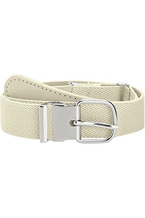 Girls Belts - Playshoes Kids Elastic Girl's Belt with Genuine Leather 65 cm