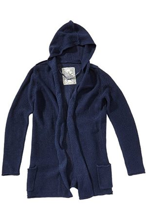 Women Cardigans - Blaumax Women's CARDIFF Hooded Long - regular Cardigan - - 14 (Brand size: L)