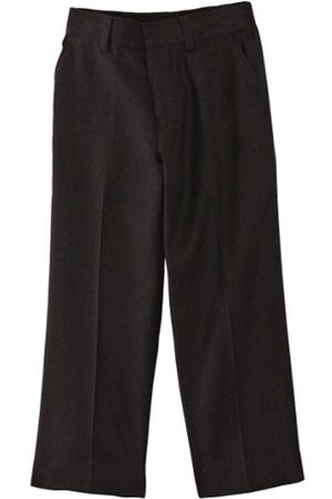 Boys Formal Trousers - Limited Boy's Elastic Back Plain Trousers