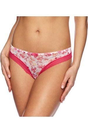 Women Thongs - Gossard Floral Frenzy Low Rise Women's Thong Medium