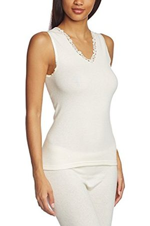 Women Tops - Women's Angora Spenzer ohne Arm s8050910 Plain Thermal Top