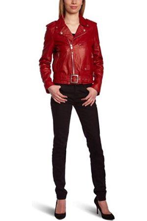 Women Blouses - Schott NYC Women's Blouse Long Sleeve Jacket - - Medium