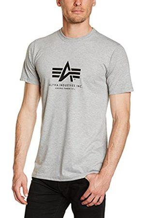 Men T-shirts - Alpha Industries Men's Basic T-Shirt Regular Fit Short Sleeve T-Shirt T-Shirt