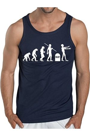 Men Tank Tops - Touchlines Men's Tank Top - Evolution Zombies Size:XXL