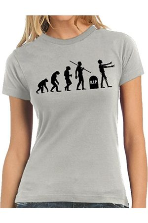 Women T-shirts - Touchlines Ladies' T-Shirt Zombies Evolution Size:L