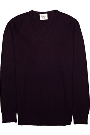 Boys Jumpers & Cardigans - V Neck Unisex Boy's and Girls School Jumper C34 IN