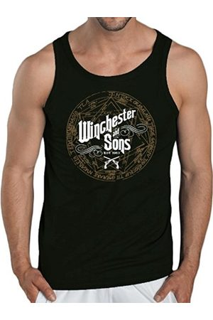 Men Tank Tops - Touchlines Winchester and Sons Tank Top Men's Contrast T-Shirt Size:XL