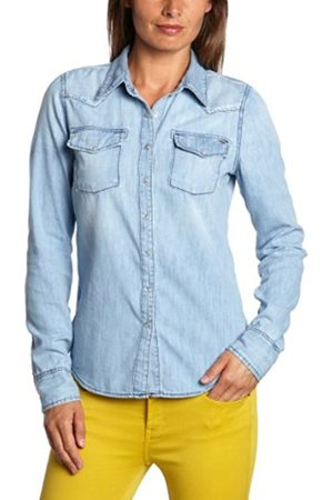 Women Blouses - Tommy Hilfiger Women's Long - regular Blouse - - 10 (Brand size: M)