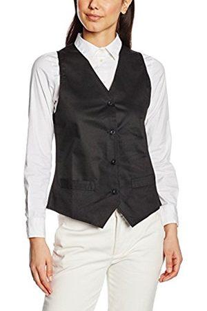 Women Waistcoats - Women's Ladies Hospitality Waistcoat Plain Sleeveless