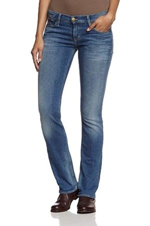 Women Straight - Mustang Women's Straight Fit Jeans - - 34/32 (Brand size: 34/32)