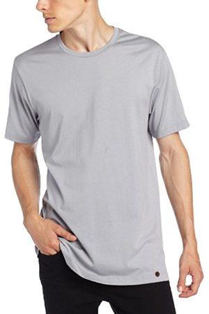 Men Short Sleeve - Hanro Men's Shirt 1/2 Arm Plain Short Sleeve Pyjama Top