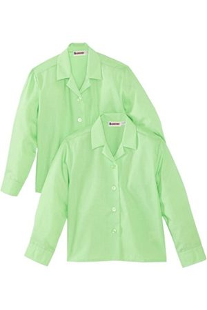 Girls Blouses - Girl's Revere Twin Pack Long Sleeve School Blouse