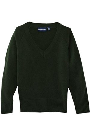 Jumpers & Cardigans - Junior Unisex Premier V-Neck School Jumper