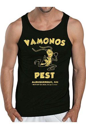 Men Tank Tops - Touchlines Vamonos Pest Men's Tank Top Size:M