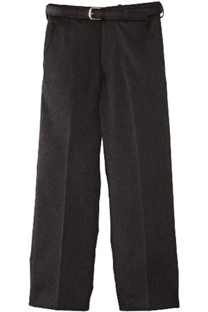 Boys Trousers & Shorts - Boy's Falmouth Flat Front with Fly School Trousers