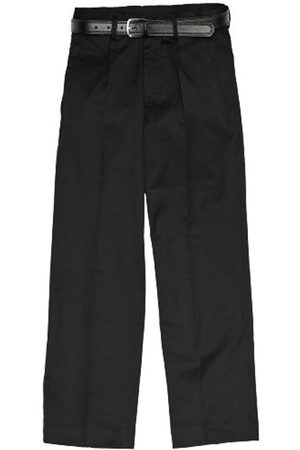Boys Trousers & Shorts - Boy's Plymouth Pleated with Fly School Trousers