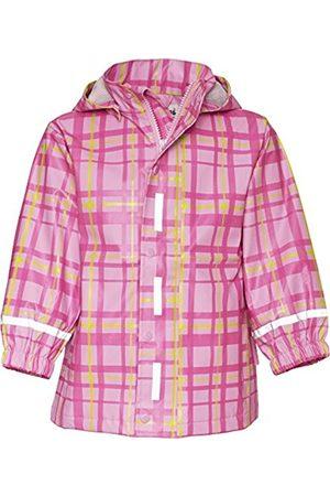 Girls Rainwear - Playshoes Plaid Patterned Waterproof Girl's Rain Coat