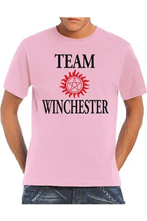 Men T-shirts - Touchlines Men's T-Shirt Team Winchester Bros Lucifer Size:XXL