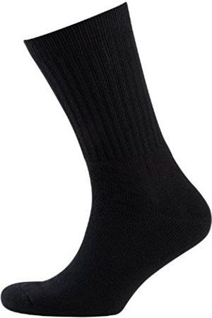 Men Underwear - Men's opaque 3 Athletic Socks Schwarz (schwarz 940) Size 9-11