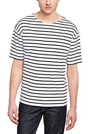 Men Short Sleeve - Armor.lux Men's Striped Short sleeve T-Shirt - - X-Large