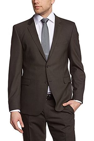 Men Long Sleeve - Strellson Men's Reverse Collar Long Sleeve Suit Jacket