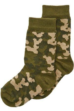 Boys Socks - Boy's Camouflage Calf Socks