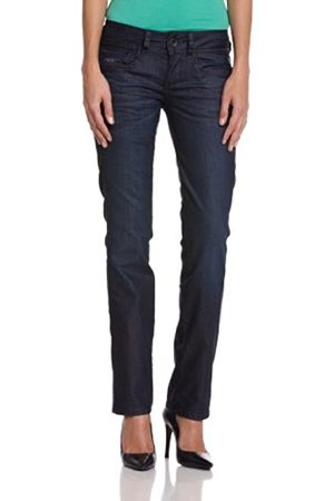 Women Straight - G-Star Women's New Ford Straight Jeans, Comfort D.I. Denim in Rugby Wash
