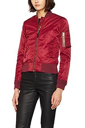 Women Jackets - Schott NYC Women's Jktacw Long Sleeve Jacket - (bordeaux 62)