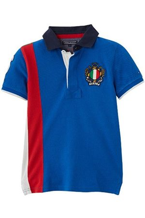 Tommy Hilfiger Boys Polo Shirts - Boys' Polo Shirt - - Bleu (Turkish Sea) - 10 years (Brand size: 10 ans)