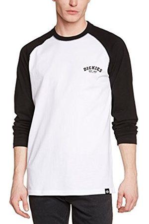 Men Long Sleeve - Dickies Men's Baseball Plain Long Sleeve T-Shirt