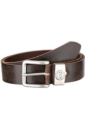 Men Belts - MGM Men's Basic Flames, 8282 Plain Belt
