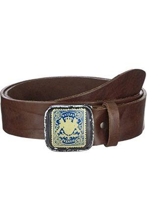 Belts - Werner Trachten Unisex Trachtengürtel 03844 Belt - brown - 130 cm