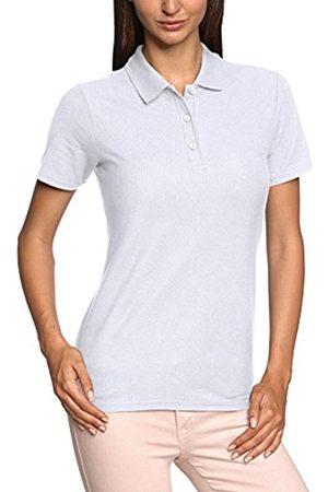 Women Polo Shirts - Women's Ladies Double Pique Plain Short Sleeve Polo Shirt