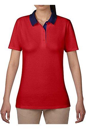 Women Polo Shirts - Women's Short Sleeve Double Piqué Polo Shirt
